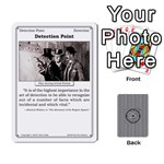 2010 Great Detectives Deck 2 - Playing Cards 54 Designs