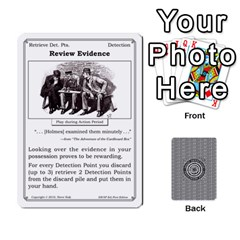 2010 Great Detectives Deck 2 By Steve Sisk   Playing Cards 54 Designs   Vwns2p56vly8   Www Artscow Com Front - Club2