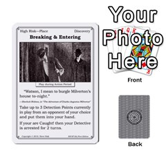2010 Great Detectives Deck 2 By Steve Sisk   Playing Cards 54 Designs   Vwns2p56vly8   Www Artscow Com Front - Club5