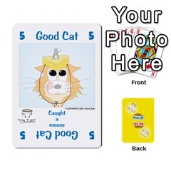 Queen 2010 Good Cat Bad Cat By Steve Sisk   Playing Cards 54 Designs   Mzvfcos5nr6j   Www Artscow Com Front - SpadeQ