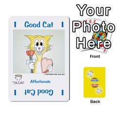 2010 Good Cat Bad Cat By Steve Sisk   Playing Cards 54 Designs   Mzvfcos5nr6j   Www Artscow Com Front - Heart6