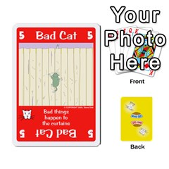 2010 Good Cat Bad Cat By Steve Sisk   Playing Cards 54 Designs   Mzvfcos5nr6j   Www Artscow Com Front - Diamond4