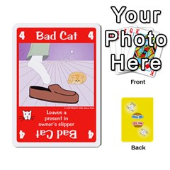 2010 Good Cat Bad Cat By Steve Sisk   Playing Cards 54 Designs   Mzvfcos5nr6j   Www Artscow Com Front - Diamond7
