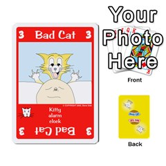2010 Good Cat Bad Cat By Steve Sisk   Playing Cards 54 Designs   Mzvfcos5nr6j   Www Artscow Com Front - Diamond9