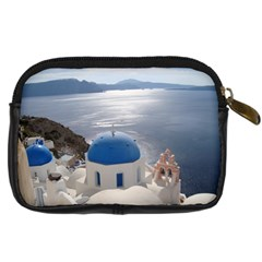 Greek Isles Camera Case By Kimswhims   Digital Camera Leather Case   Wh0gjz5a4bp0   Www Artscow Com Back