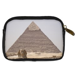 Egypt Camel And Sphinx Digital Camera Case By Kimswhims   Digital Camera Leather Case   1bqk7xo61z75   Www Artscow Com Back