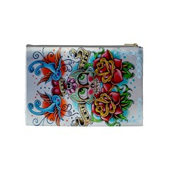 Cosbag By Hayley Kolb   Cosmetic Bag (medium)   Pihymupeuaw7   Www Artscow Com Back