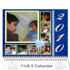 Yash N Rishi Calender By Amrita   Wall Calendar 11  X 8 5  (12 Months)   3l56ij4paed2   Www Artscow Com Cover