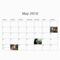 Yash N Rishi Calender By Amrita   Wall Calendar 11  X 8 5  (12 Months)   A8n9easztx4f   Www Artscow Com May 2010