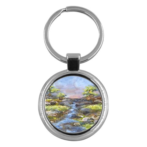 Through The Lens By Alana   Key Chain (round)   Ebi6rf8dt3vv   Www Artscow Com Front