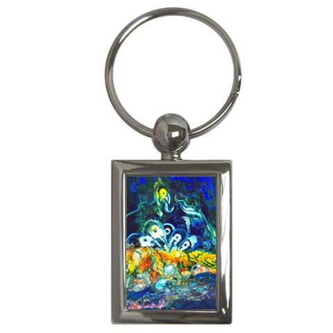 Togetherness By Alana   Key Chain (rectangle)   Nbwawcd7f01q   Www Artscow Com Front