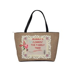 Mamma s Climbin  The Family Tree   To Go Bag! By Laurrie   Classic Shoulder Handbag   9pzq7u0llsho   Www Artscow Com Back