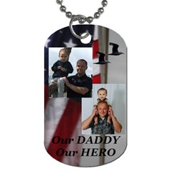 David By Trina Kessel   Dog Tag (two Sides)   P0jhgk7xp9gj   Www Artscow Com Front