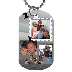David By Trina Kessel   Dog Tag (two Sides)   P0jhgk7xp9gj   Www Artscow Com Back