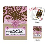 danicphotography playing cards thank you gift - Playing Cards Single Design