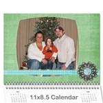 2010calendar - Wall Calendar 11  x 8.5  (12-Months)