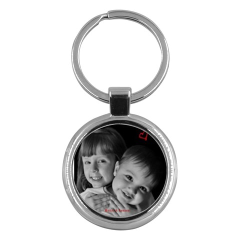 Keychain By Christy Fralin   Key Chain (round)   9cvgvc1jqhf9   Www Artscow Com Front