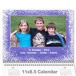 need to update photos - Wall Calendar 11  x 8.5  (12-Months)