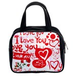 Valentine bag - Classic Handbag (Two Sides)
