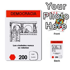 Civilizacion4 By Pablo Aranda Heras   Multi Purpose Cards (rectangle)   855ag1vmynd5   Www Artscow Com Front 1