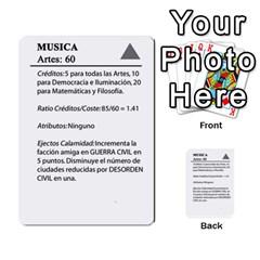 Civilizacion4 By Pablo Aranda Heras   Multi Purpose Cards (rectangle)   855ag1vmynd5   Www Artscow Com Back 7