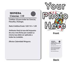 Civilizacion4 By Pablo Aranda Heras   Multi Purpose Cards (rectangle)   855ag1vmynd5   Www Artscow Com Back 12