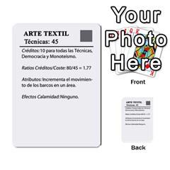 Civilizacion4 By Pablo Aranda Heras   Multi Purpose Cards (rectangle)   855ag1vmynd5   Www Artscow Com Back 14