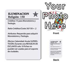 Civilizacion4 By Pablo Aranda Heras   Multi Purpose Cards (rectangle)   855ag1vmynd5   Www Artscow Com Back 23