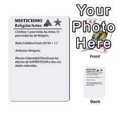 Civilizacion4 By Pablo Aranda Heras   Multi Purpose Cards (rectangle)   855ag1vmynd5   Www Artscow Com Back 24