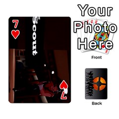 Team Funcom Tcg (faces On) By Mark C Petzold   Playing Cards 54 Designs   V895zx2wigw2   Www Artscow Com Front - Heart7