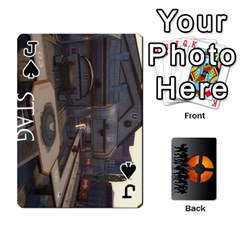 Jack Team Funcom Tcg (faces On) By Mark C Petzold   Playing Cards 54 Designs   V895zx2wigw2   Www Artscow Com Front - SpadeJ