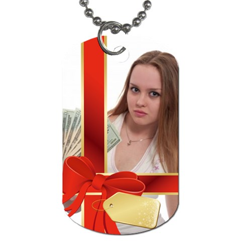Gift By Wood Johnson   Dog Tag (one Side)   7h0c03lfyj8y   Www Artscow Com Front