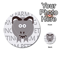 Farm Memory By Brookieadkins Yahoo Com   Multi Purpose Cards (round)   Eykna11w6k43   Www Artscow Com Back 14