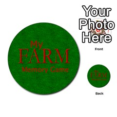Farm Memory By Brookieadkins Yahoo Com   Multi Purpose Cards (round)   Eykna11w6k43   Www Artscow Com Back 3