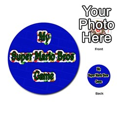 Boys Memory Game By Brookieadkins Yahoo Com   Multi Purpose Cards (round)   Plpu75p0ktrz   Www Artscow Com Front 54