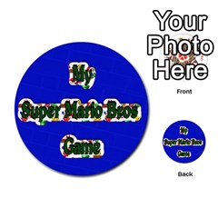 Boys Memory Game By Brookieadkins Yahoo Com   Multi Purpose Cards (round)   Plpu75p0ktrz   Www Artscow Com Front 19