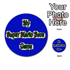 Boys Memory Game By Brookieadkins Yahoo Com   Multi Purpose Cards (round)   Plpu75p0ktrz   Www Artscow Com Front 27