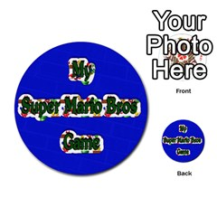 Boys Memory Game By Brookieadkins Yahoo Com   Multi Purpose Cards (round)   Plpu75p0ktrz   Www Artscow Com Front 4