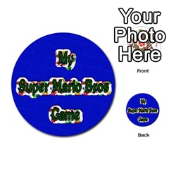 Boys Memory Game By Brookieadkins Yahoo Com   Multi Purpose Cards (round)   Plpu75p0ktrz   Www Artscow Com Front 32