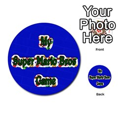 Boys Memory Game By Brookieadkins Yahoo Com   Multi Purpose Cards (round)   Plpu75p0ktrz   Www Artscow Com Front 47