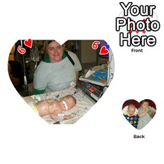 Heart Of Cards By Tonya Smith   Playing Cards 54 (heart)   O5go30izec33   Www Artscow Com Front - Heart6