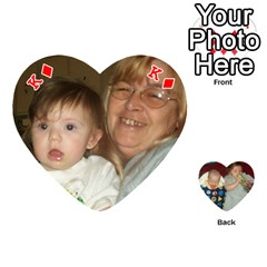 King Heart Of Cards By Tonya Smith   Playing Cards 54 (heart)   O5go30izec33   Www Artscow Com Front - DiamondK