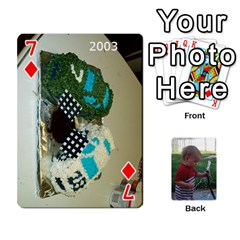 Cards M & D By Kendra   Playing Cards 54 Designs   F4c4mxi4vr72   Www Artscow Com Front - Diamond7