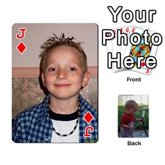 Jack Cards M & D By Kendra   Playing Cards 54 Designs   F4c4mxi4vr72   Www Artscow Com Front - DiamondJ