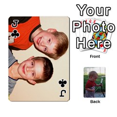 Jack Cards M & D By Kendra   Playing Cards 54 Designs   F4c4mxi4vr72   Www Artscow Com Front - ClubJ
