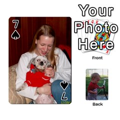 Cards M & D By Kendra   Playing Cards 54 Designs   F4c4mxi4vr72   Www Artscow Com Front - Spade7