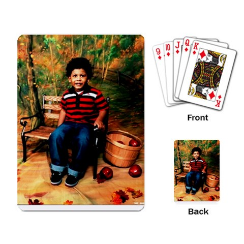 Quiques Cards By Theresa   Playing Cards Single Design   Lc8sh8zmxdkr   Www Artscow Com Back