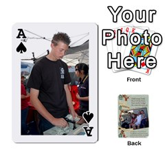 Ace Grandkids Cards By Lynne Simmons   Playing Cards 54 Designs   0z6p7v8k15ku   Www Artscow Com Front - SpadeA