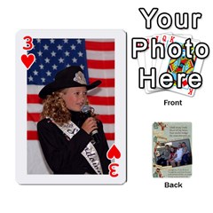 Grandkids Cards By Lynne Simmons   Playing Cards 54 Designs   0z6p7v8k15ku   Www Artscow Com Front - Heart3