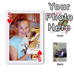 Grandkids Cards By Lynne Simmons   Playing Cards 54 Designs   0z6p7v8k15ku   Www Artscow Com Front - Heart5